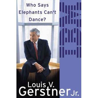 livre de Lou Gerstner: j'ai fait danser un éléphant